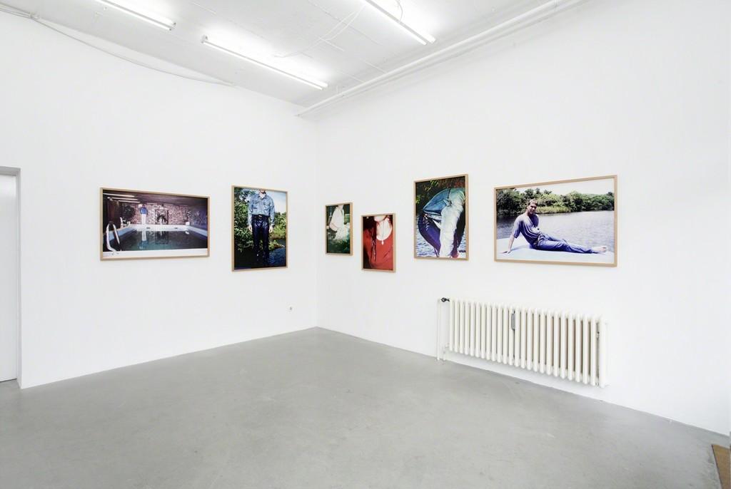 Bis morgen im Nassen, 2013, fine art prints, framed