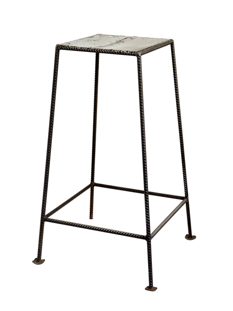 , 'Untitled 04, Banco de metal (Metal stool),' 2020, AKKA Project