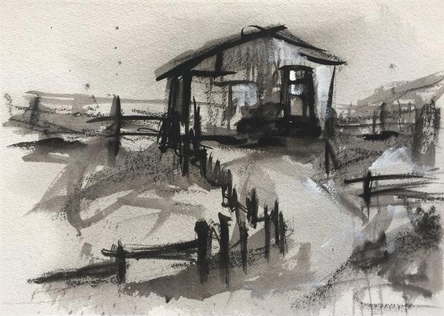 , 'Farm Study II,' ca. 2017, Axiom Fine Art