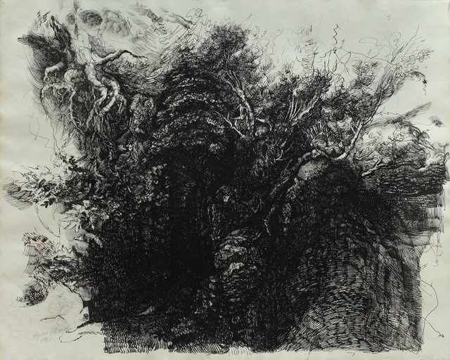 Hyman Bloom, 'Tree Study', ca. 1970, Alexandre Gallery
