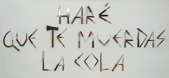 Moris, 'Haré que te muerdas la cola,' 2014, Arróniz Arte Contemporáneo