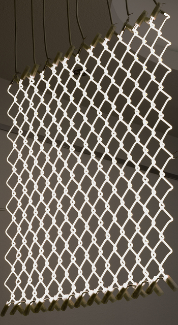 , 'High Voltage Fence,' 2015, SARIEV Contemporary
