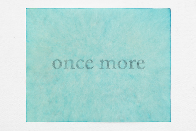 , 'once more,' 2016, PDX CONTEMPORARY ART