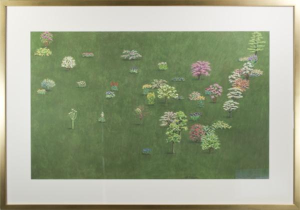 , '48 Flowers,' 1983, David Barnett Gallery