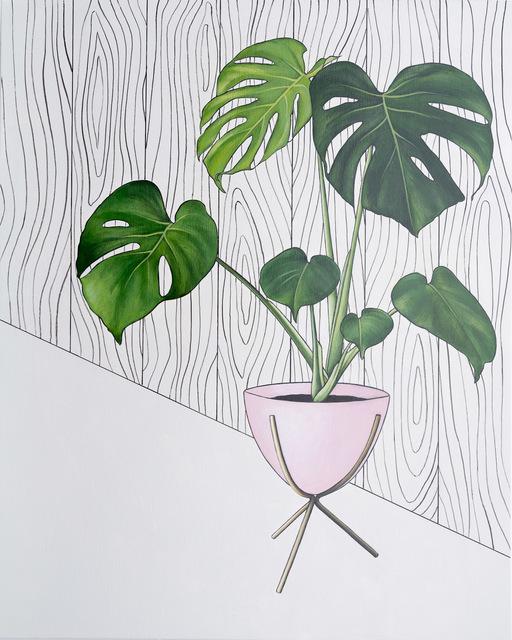 , 'Monstera,' 2018, Lustre Contemporary