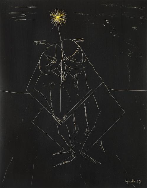 Vincenzo Agnetti, 'Photo-Graffia', 1980, Photography, Photograph Color insertion, Il Ponte