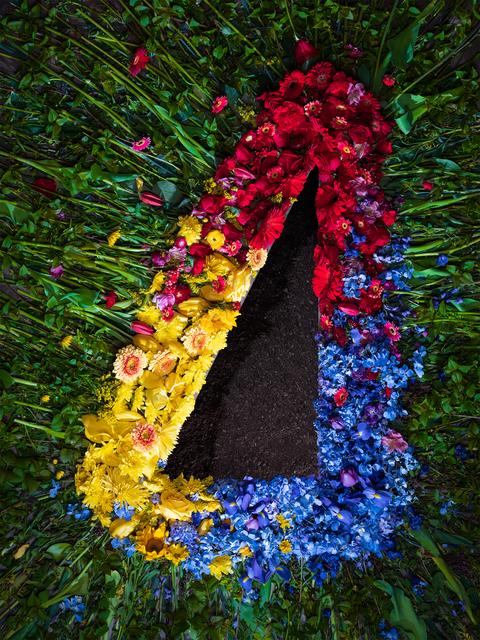 , 'Flowers and Dirt (Triad),' 2018, Winston Wächter Fine Art