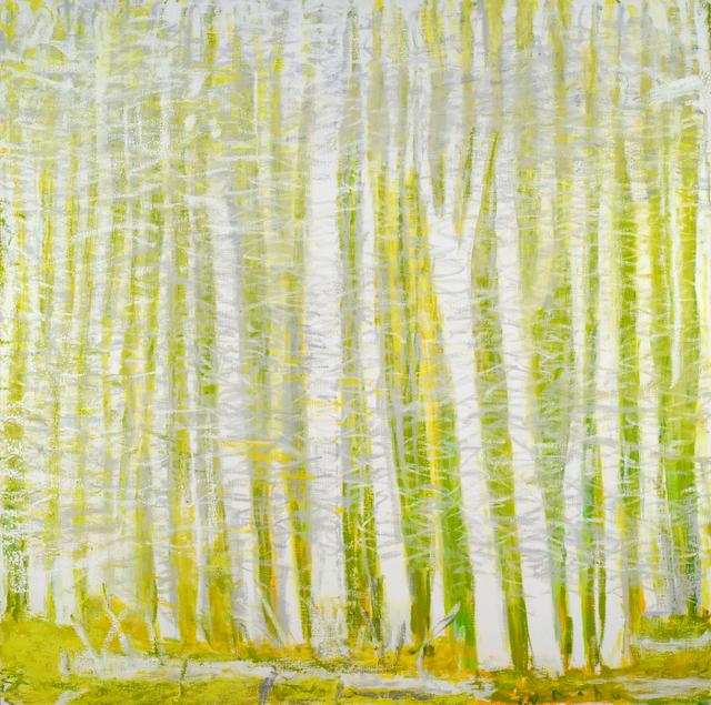 , 'Yellow, White and Silvery Gray,' 2015, Addison/Ripley Fine Art