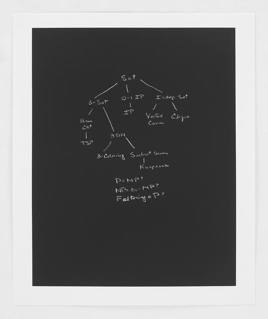 , 'P Versus NP,' 2014, Bernard Jacobson Gallery