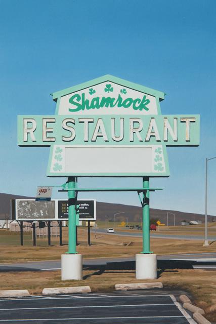 , 'Shamrock,' 2017, Louis K. Meisel Gallery