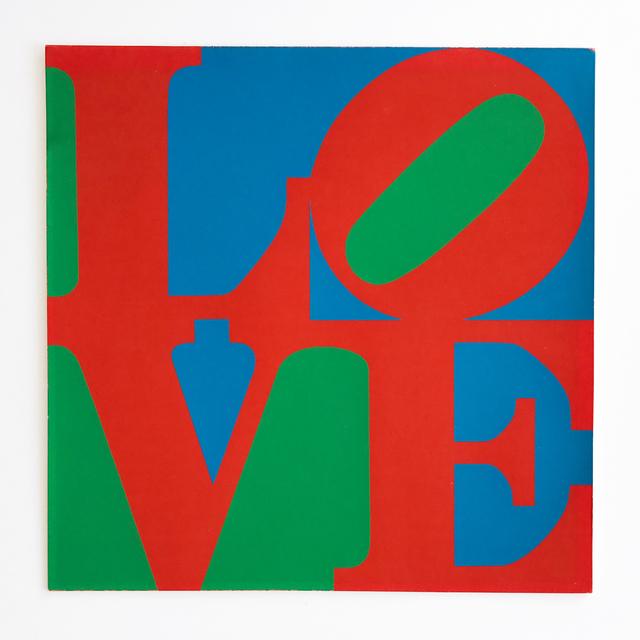 Robert Indiana, 'LOVE – MoMA Christmas Card', 1965, MLTPL