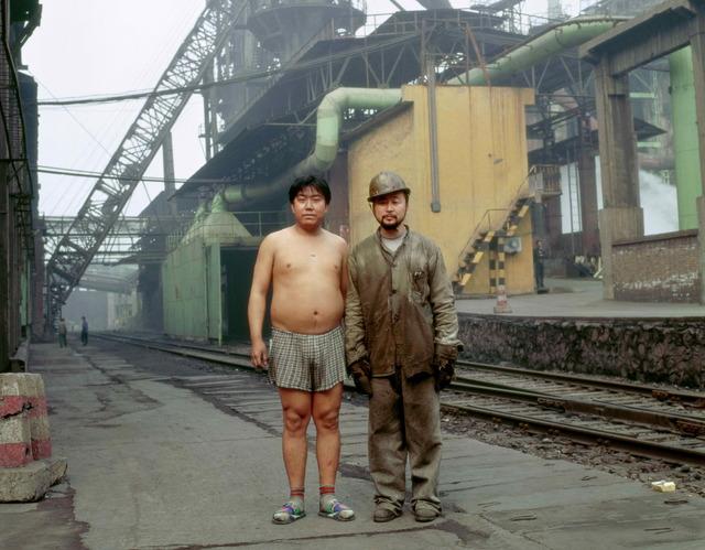 , 'Identity Exchange Series, Steel Making Worker,' 2004, Contemporary by Angela Li