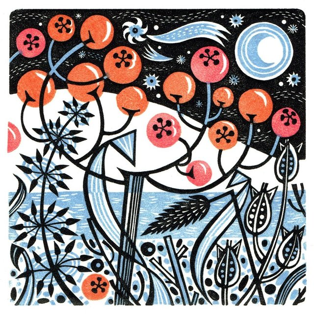 , 'Winter Berries,' 2017, Sarah Wiseman Gallery