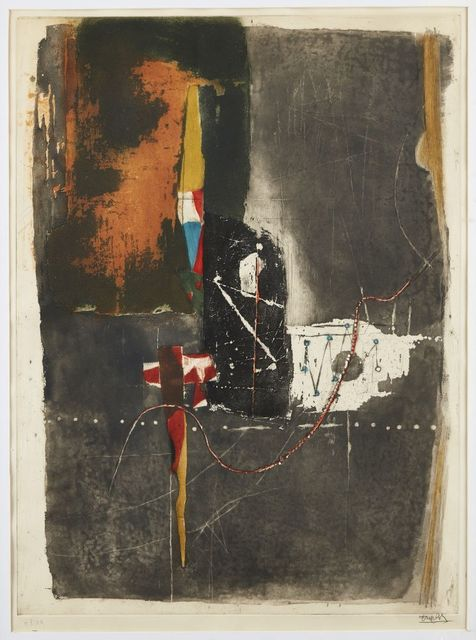 Johnny Friedlaender, 'Untitled', Print, Etching in colours on wove, Roseberys