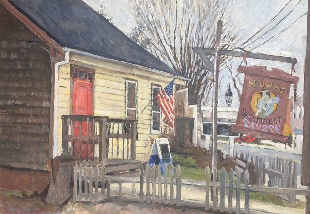 , 'Murf's Backstreet Tavern,' 2018, Grenning Gallery