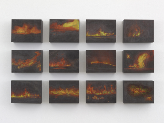 , 'Small American Fires,' 2016, Anthony Meier Fine Arts