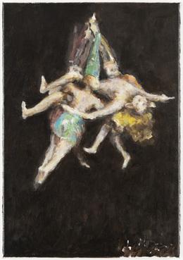 , 'Ghost (nach Goyas Hexenflug),' 2014, Galerie Peter Kilchmann
