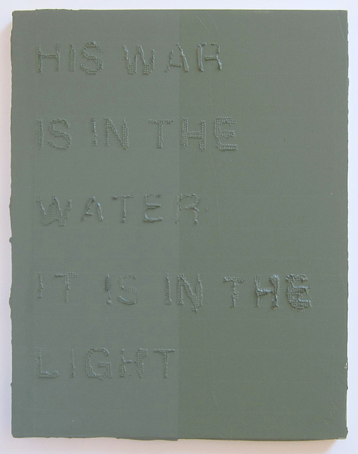 , 'Water Water Light,' 2016, Albert Merola Gallery