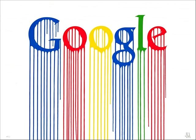 Zevs, 'Liquidated Google ', 2013, Alpha 137 Gallery