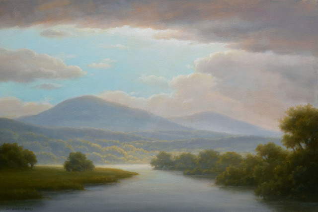 , 'Light Over the Berkshires,' 2018, Carrie Haddad Gallery