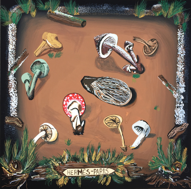 , 'Hermès Mushrooms,' 2014, Gallery 16
