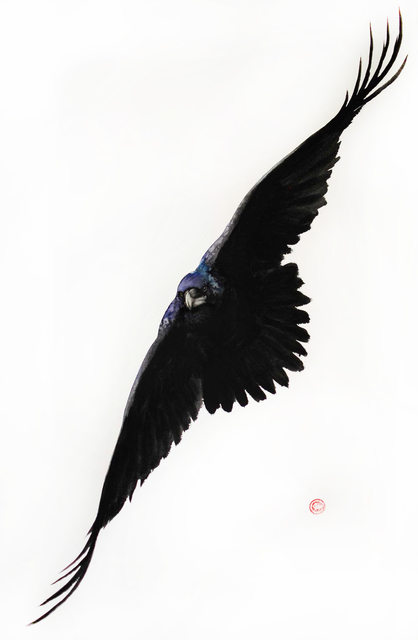 , 'Raven,' 2016, Cricket Fine Art