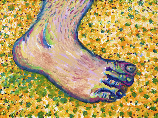 , 'David's Foot,' 2017, Anna Marra Contemporanea