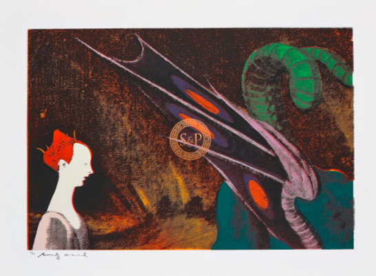 Andy Warhol, 'Paolo Uccello, St. George and the Dragon', 1984, Smith & Partner