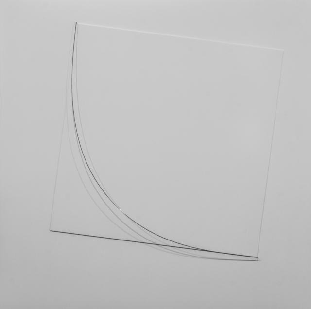 , 'Estudio para Cuadrado II Serie Malevich,' 2015, Marion Gallery