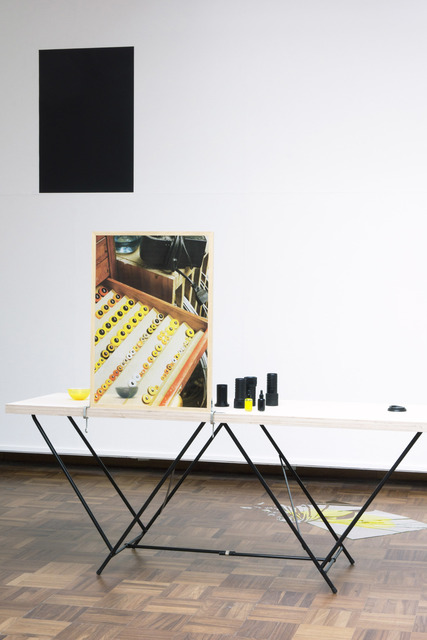 , 'I see you seeing me see you - Yellow / Black Section,' 2014-2017, Kadel Willborn