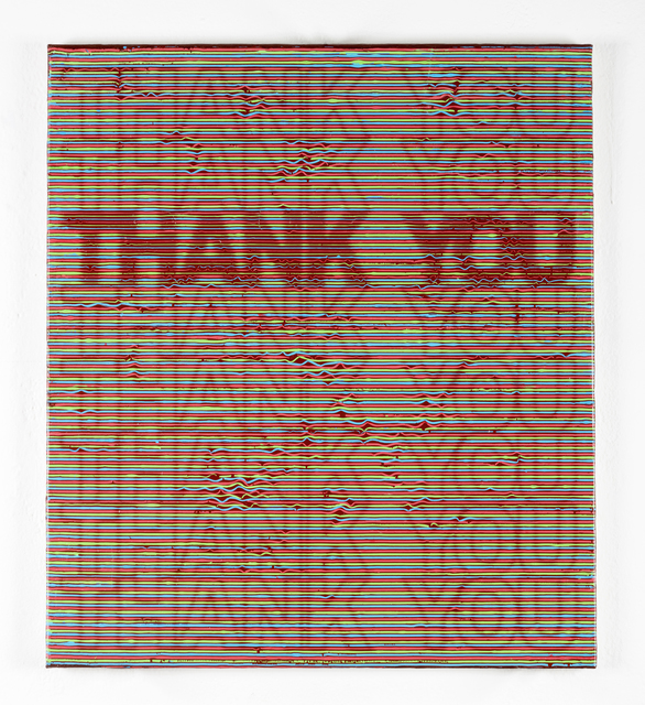 Luke Harnden, 'Thank You', 2019, Sean Horton (presents)