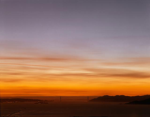 Richard Misrach, 'Golden Gate Bridge, 12.14.99, 5:29PM', 1999, Photography, Pigment print, Fraenkel Gallery