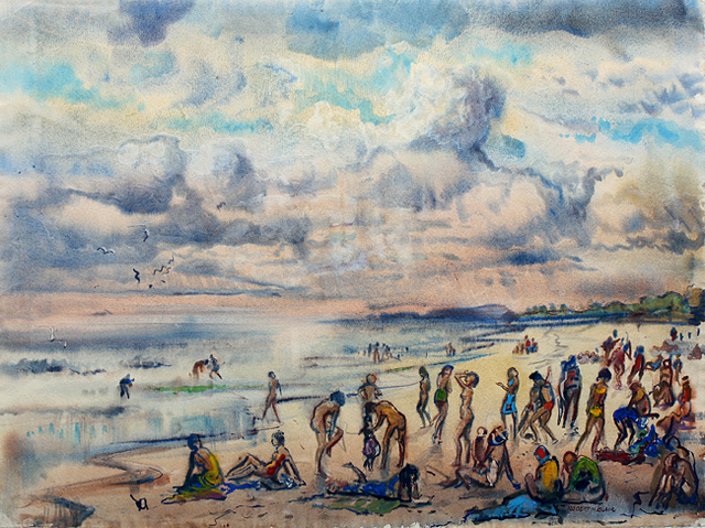 , 'Thunder Bay,' ca. 1950, Benjaman Gallery Group