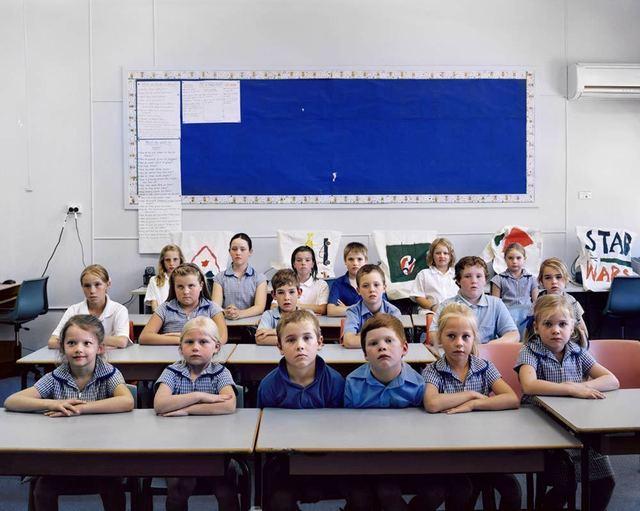 Amy Stein and Stacy Arezou Mehrfar, 'Schoolchildren, Weethalle', 2010, ClampArt