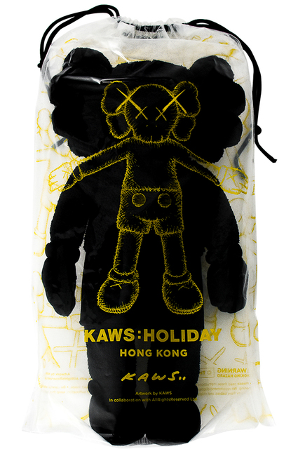"KAWS, 'HOLIDAY HONG KONG LIMITED 20"" PLUSH (Black)', 2019, Silverback Gallery"