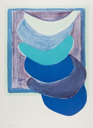 Sir Terry Frost, 'Blue Suspended Form (Kemp 54),' 1970, Forum Auctions: Editions and Works on Paper (March 2017)