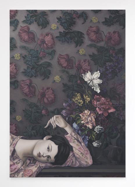 , 'The Dark-Haired Odalisque,' 2016, Nathalie Karg Gallery