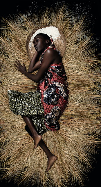 Omar Victor Diop, 'Aline Sitoe Diatta, 1944', 2016, Photography, Inkjet print on Hahnamühle paper, Magnin-A