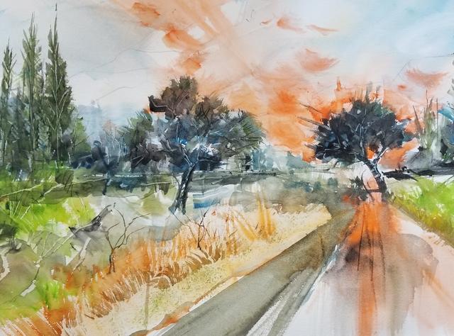 , 'Fairview Trail,' 2017, J. Pepin Art Gallery
