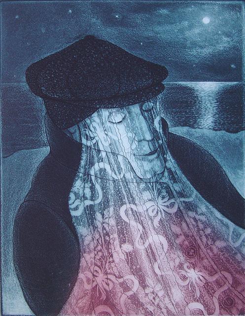 , 'Mummer in Lantern Light,' 1993, Winchester Galleries