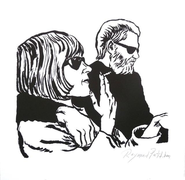 Raymond Pettibon, 'Untitled (Kim and Dan)', 2015, Derriere L'Etoile Studios