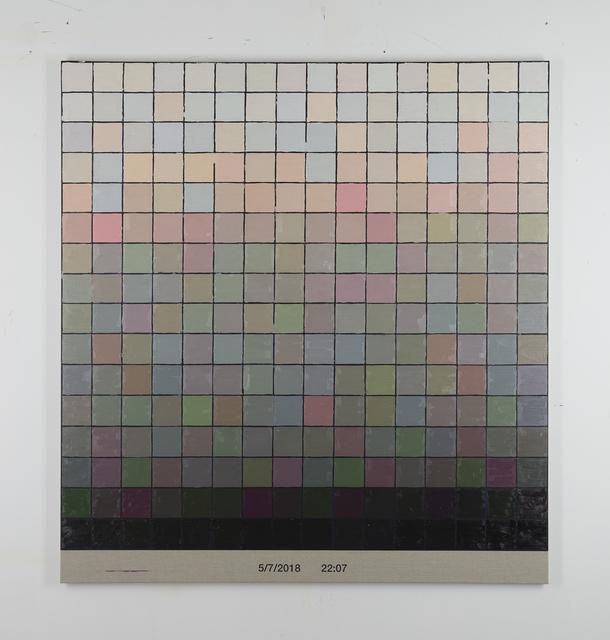 , 'Colorscape 5 juli 22:07,' 2018, Whitehouse Gallery