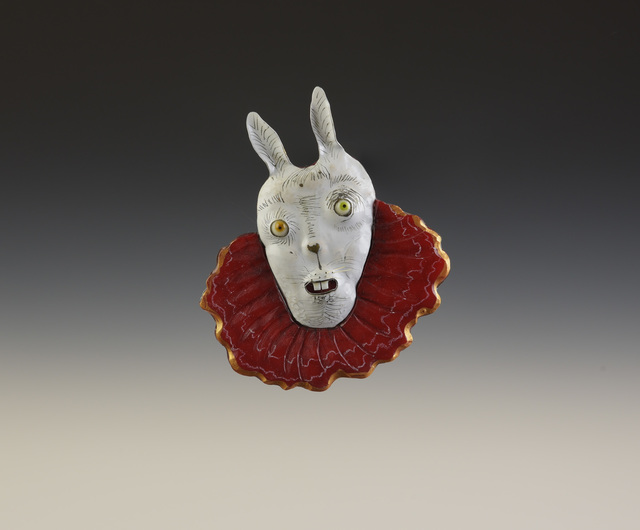 Robin Kranitzky & Kim Overstreet, 'Red Rabbit', 2017, Facèré Jewelry Art Gallery