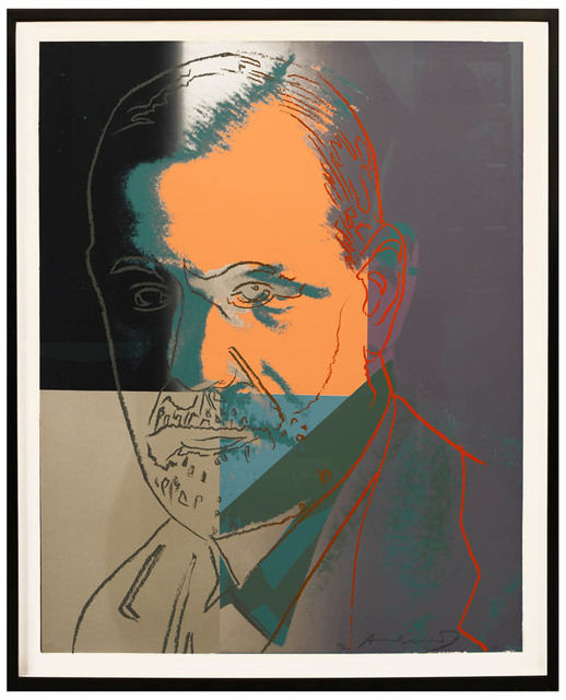 Andy Warhol, 'Sigmund Freud, from Ten Portraits of Jews of the Twentieth Century. ', 1980, Shapero Modern