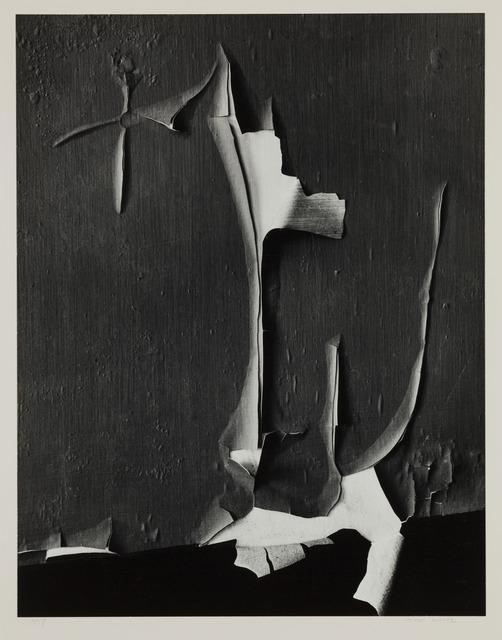 , 'Peeled Paint, Rochester, New York,' 1959-printed circa 1975, Scott Nichols Gallery
