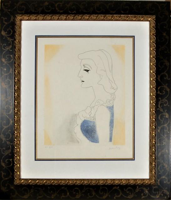 Man Ray, 'Tony, from the suite, Ballade des Dames Hors du Temps,', 1970, Joseph Grossman Fine Art Gallery