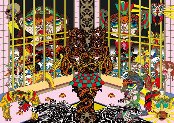 , 'Lost and wandering Bridge # 9,' 2012, Minnano Gallery