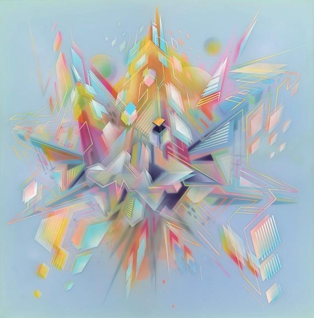 , 'Dawn Infinity,' 2014, Joseph Gross Gallery