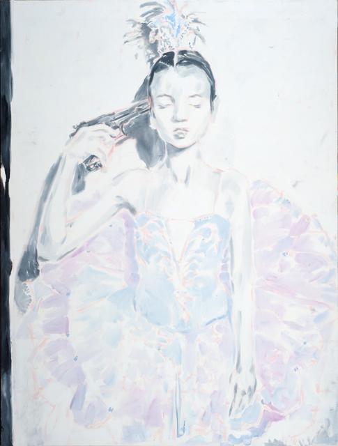 """, '""""Hope Dies Last #2 (violet tutu)"""" (Надежда умирает последней №2 [сиреневая пачка]),' 2018, Gallery 198"""
