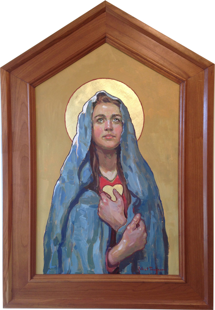 , 'Immaculate Heart of Mary,' 2018, J. Cacciola Gallery